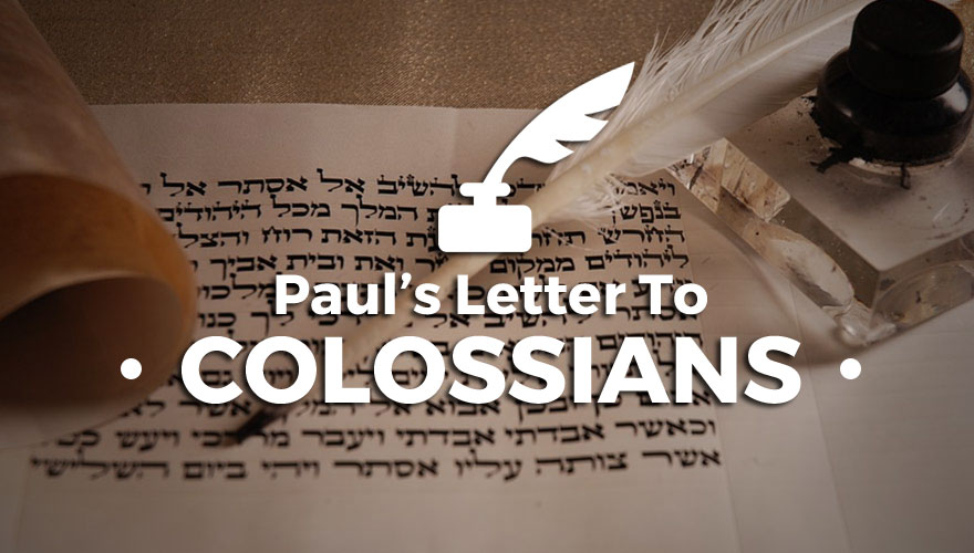 Sermon Series: Paul's Letter to the Colossians